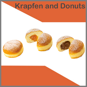 Krapfen and Donuts